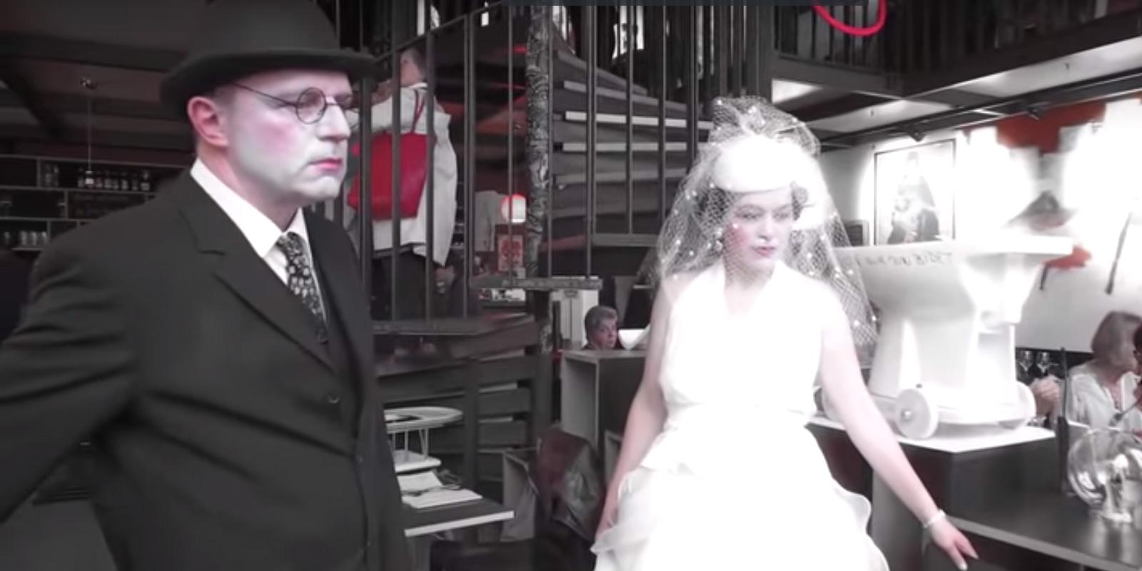 Performance de Carmen Bayenet et Philippe Reymondin